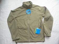 NWT Columbia Mens Ascender II Softshell Medium Omni Shield water resistant tan M
