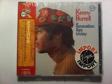 KENNY BURRELL A GENERATION AGO TODAY JAPAN NEW CD NEUF