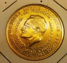 1964 BARRY GOLDWATER FOR PRESIDENT 1964  USA FREEDOM DOLLAR COIN