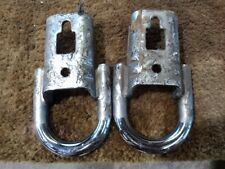 09 10 11 12 13 14  Ford F150 Factory Chrome Tow Hooks OE DS518E