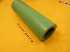 NYLACAST GREEN NYLON TUBE oilon plastic round bushing rod stock 4 x 2.750 x 13.5