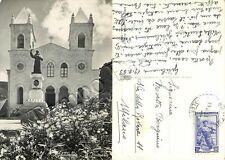 Cartolina di Gibilmanna (Cefalù), santuario - Palermo, 1953