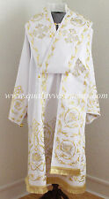 Orthodox Bishop Vestment White Embroidered or any color