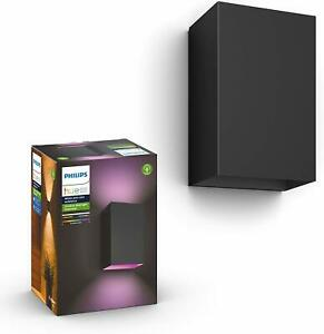 Philips Hue Resonate White & Colour Ambiance LED Smart Outdoor Wall Light