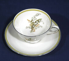 Franconia Krautheim China LILY of the VALLEY Cup and + Saucer Set