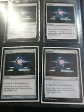 MTG Magic the Gathering Sol Ring Various Sets x4 See Photos