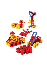 Mobilo Standard Construction Playset, 120 Pieces