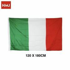 Bandiera Italia Italiana In Tessuto Misura 120x180cm hmj