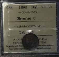 Canada 1898 10 Cents Observe 6