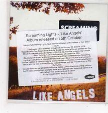 (FL719) Screaming Lights, Like Angels - 2009 DJ CD