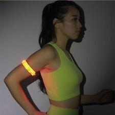 4LED Light Reflective Arm Wrist Band Flash Safety Belt for Night Running New
