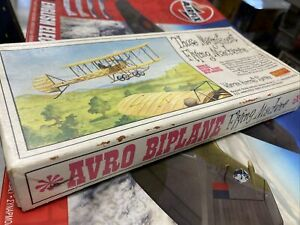 Inpact Model Kit Avro Biplane Those magnificent Flying Machines Kits