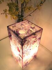 Hard to Find Amethyst Semi Precious Stone Table Lamp 12
