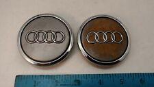 (2) Audi A3 A4 A6 A8 TT Grey Wheel Center Hub Cap OE 4B0 601 170 A 4B0601170A