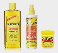 Sulphur8  Medicated Original Shampoo Hair & Scalp Conditioner *anti-dandruff*