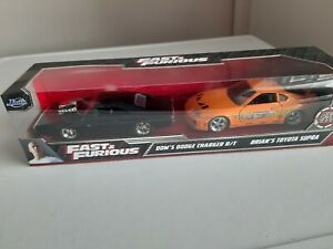 FAST & FURIOUS brian's Toyota, dom's charger