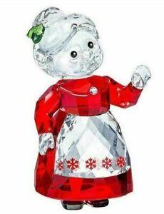 NIB Swarovski Crystal Christmas Figurine Mrs. Claus #5464887