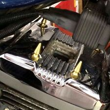 HARLEY HD SPORTSTER BRASS SPIKE CYLINDER HEAD BOLTS valve rocker cover bobber