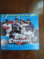 2020 Topps Chrome MLB Update Series Baseball Cards Mega Box Factory Sealed Blue