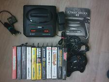 Sega Mega Drive II + 13 Spiele