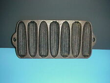 Antique Wagner Ware Corn Muffin Pan Tin Mold Cast Iron Kitchen Collectible