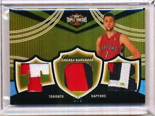 2006/07 TOPPS TRIPLE THREADS ANDREA BARGNANI 2/9