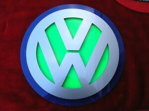 Volkswagen 3D CAR ART SIGN FORD display Chevy custom  NEW 2020 Dodge VW beetle