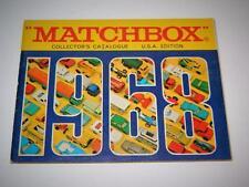 MATCHBOX LESNEY VINTAGE 1968 COLLECTORS CATALOGUE RARE U.S.A EDITION VNM