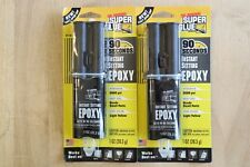 (2 Pack) Super Glue 90 Second Instant Setting Metal Ceramic Glass Plastic Epoxy