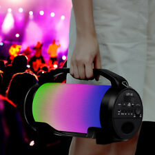 Portable Super Bass Loud LED Wireless bluetooth Speaker Outdoor Subwoofer Stereo