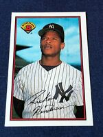 1989 Bowman RICKEY HENDERSON Baseball Card #181 New York Yankees MINT!   HOF