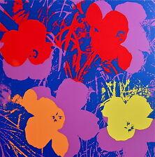 Flowers #66 (Sunday B. Morning), Silkscreen, Andy Warhol - with COA