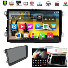 """9"""" Android7.1 1080P 2DIN Car Stereo GPS Radio Player Quad-Core 1+16G Wifi For VW"""