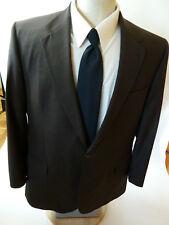 Jos A Bank Mens Signature Collection Vtg-Nailhead Brown-Size 48L-Condition A++