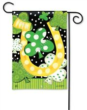 Flag Luck Irish Horseshoe Small Garden Yard Patio House Banner BreezeArt 12.5x18