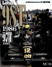 Lotus 98T 1986 97T 1985 Photo Book Johnny Dumfries, Ayrton Senna,Elio de Angelis