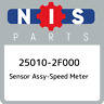 25010-2F000 Nissan Sensor assy-speed meter 250102F000, New Genuine OEM Part