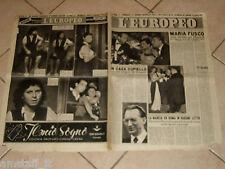 EUROPEO 1947/41=MARIA FUSCO LA SPOSA DEL SUD=MARIA MICHI=MARIA SIMONINI BIKI=