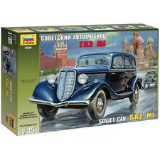 Zvezda 3634 gaz M1 soviétique voiture 1,35 modèle kit