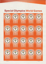 Scott #4986 IMPERFORATE (49c) Special Olympics Games Pane of 20-Only 4000 issued