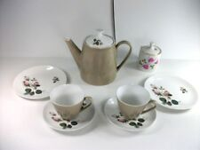 Fantastic & Iconic Vintage 1960s Johnson Bros.Tea Set For Two