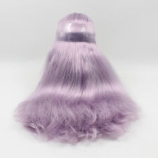 Blythe Doll RBL Scalp & Dome Purple Hair Without Bangs JSH076