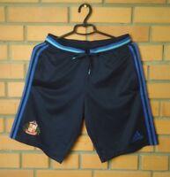 Sunderland Shorts Football Soccer Player Issue Adizero Size SMALL Adidas