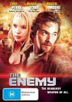 THE ENEMY DVD  Roger Moore Action Movie - Luke Perry, Olivia D'abo