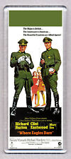 WHERE EAGLES DARE movie poster WIDE FRIDGE MAGNET - CLINT EASTWOOD 60's CLASSIC