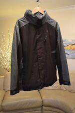 TRESPASS Green Grey Winter Jacket Mens Sz. Medium - Water & Wind Proof - Hood