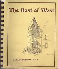 BINGHAMTON NY 1988 WEST PRESBYTERIAN CHURCH COOK BOOK THE BEST OF THE WEST *RARE
