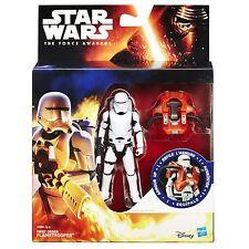 Star Wars The Force despierta misión espacial figura de 3.75 pulgadas armadura Up flametrooper