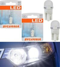 Sylvania LED Light 2825 T10 White 6000K Two Bulbs Rear Side Marker Replace Fit