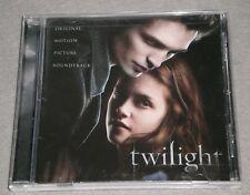 TWILIGHT ~ Original Motion Picture Soundtrack CD ~ Features ROBERT PATTISON Orig